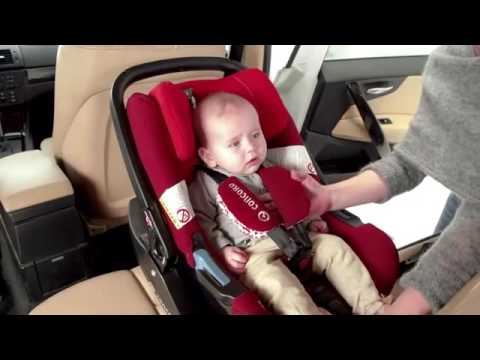 concord air safe babyschale isofix basis youtube. Black Bedroom Furniture Sets. Home Design Ideas