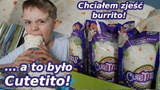 Chciałem zjeść buritto, a to było CUTETITO  * prank na Wiktorze *