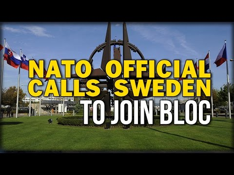 NATO OFFICIAL CALLS SWEDEN TO JOIN BLOC