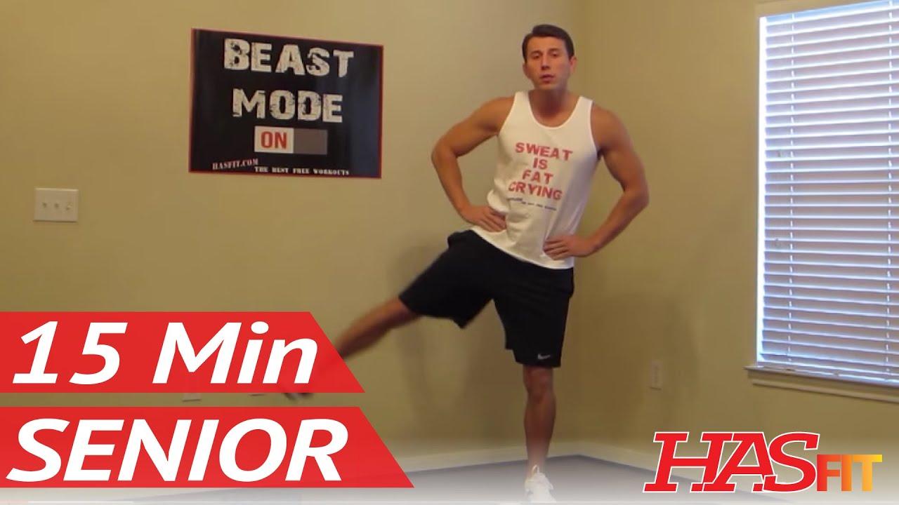 30 Minutes In Chair Exercises For Seniors Staples Hardwood Mat 15 Minute Senior Workout Hasfit S Low Impact Youtube Premium
