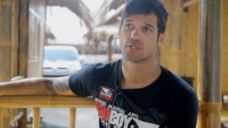 Vaughan Lee - New UFC fighter, sits down for a talk at Phuket Top Team MMA Training Camp in Thailand