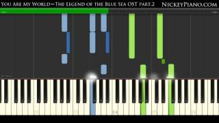 Gambar cover 【Tutorial】YOON MI RAE – You Are My World  | The Legend Of The Blue Sea OST Part.2