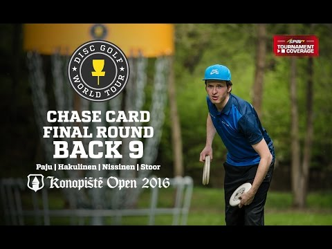2016 Konopiste Open: Chase Card Final Round, Back 9 (Paju, Hakulinen, Nissinen, Stoor)