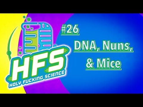 HFS Podcast #26 - Science of Memory: DNA, Nuns, & Mice