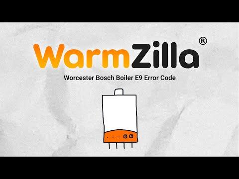 Worcester Bosch Boiler E9 Error Code