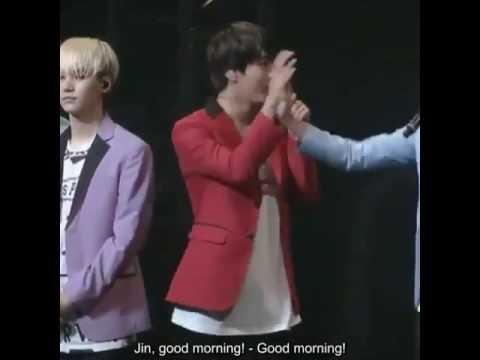 BTS jungkook teasing jimin height