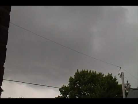 Severe Thunder storm Hitting  Quincy MA Braintree MA 6-8-12