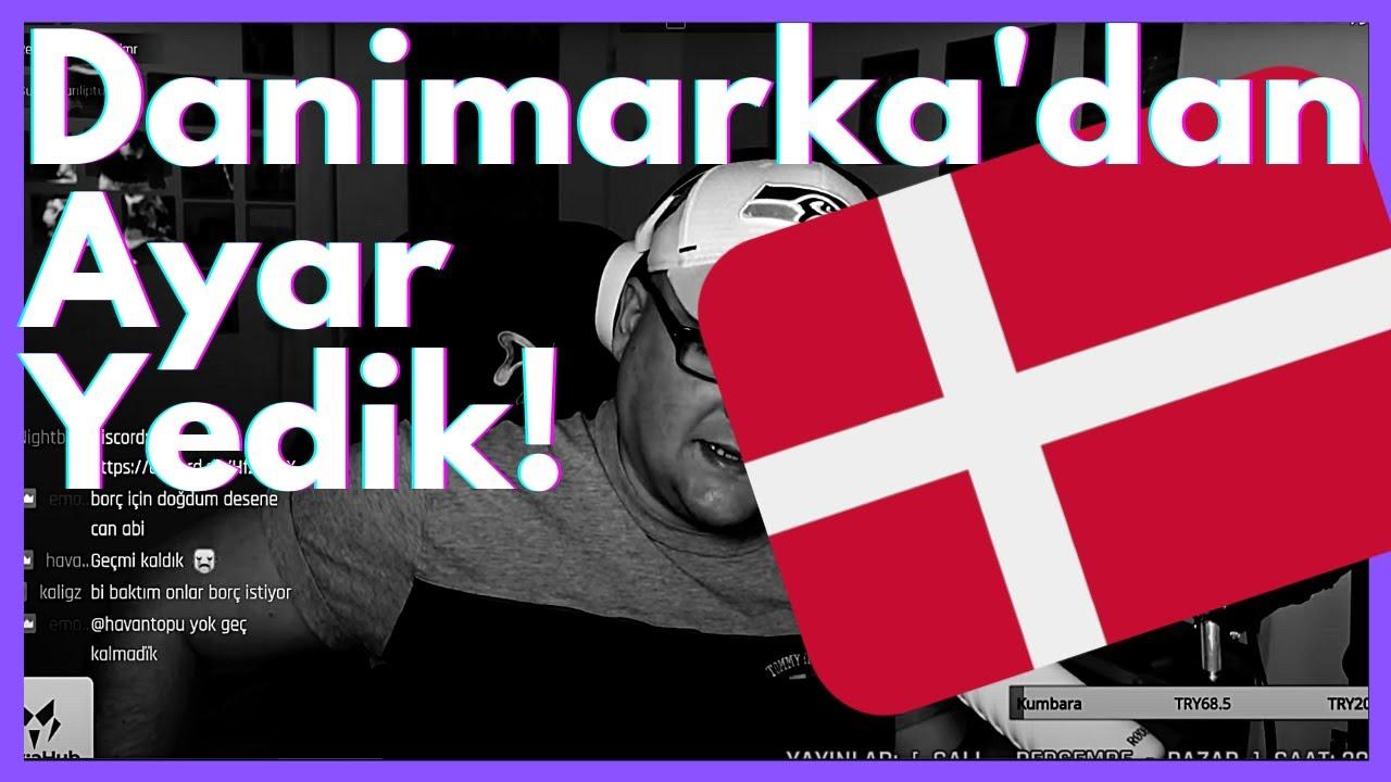 Danimarka'ya geldik... Bir de AYAR yedik!