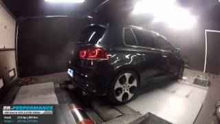 Reprogrammation Moteur VW Golf 6 GTI 2.0 TSI 210hp @ 265hp par BR-Performance