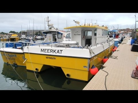 Meerkat Weymouth based fast charter boat for inshore and offshore angling