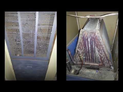 Neglected 1982 Intertherm Electric Furnace + HVAC Photo Mashup