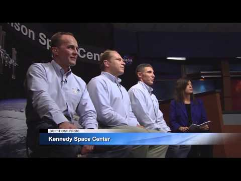 Astronaut Mike Hopkins, Next Station Crew Meet Media