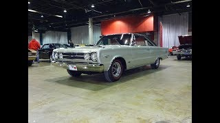 1967 Plymouth Belvedere GTX in Silver & 426 Hemi Engine Sound on My Car Story with Lou Costabile