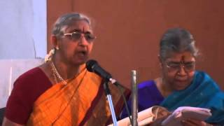 Tyagaraja Aradhana Celebrations-Saket Pranaam –Kana kana ruchi rā kanaka vasana ninnuM2U01155
