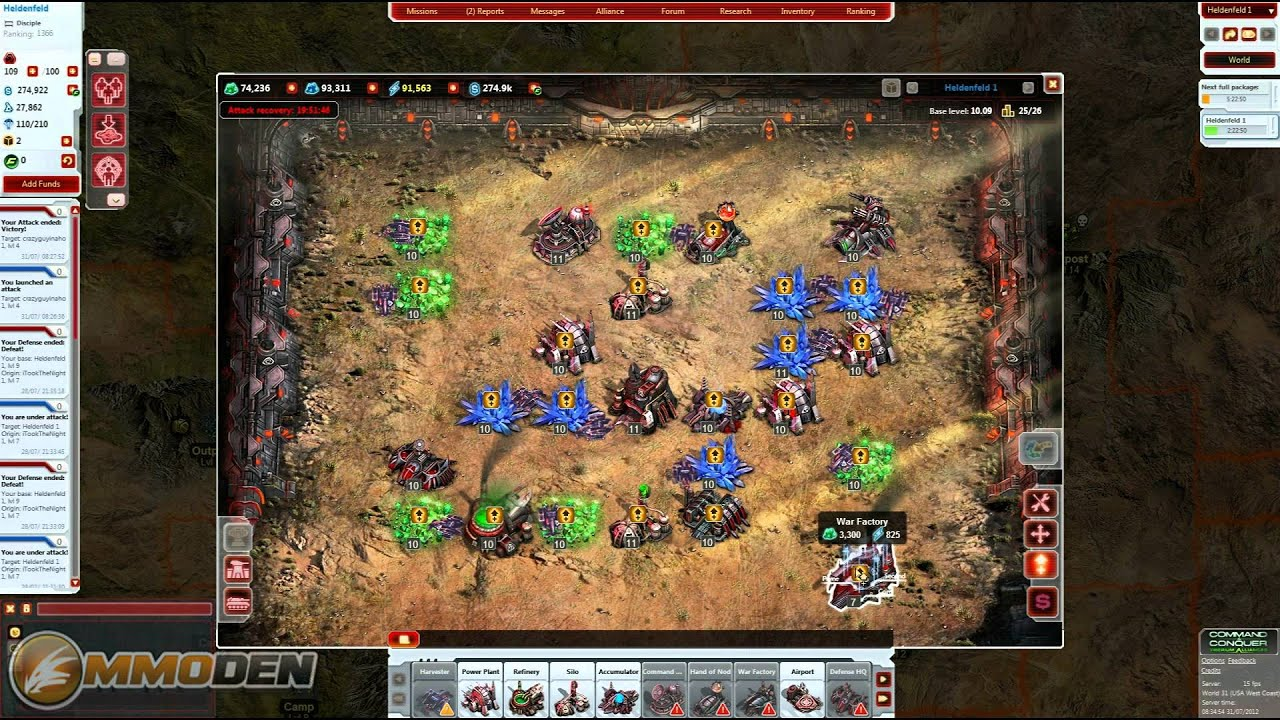 Command And Conquer Tiberium Alliance