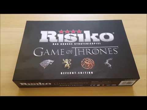 Game Of Thrones RISIKO - Unboxing - Festa Verlag