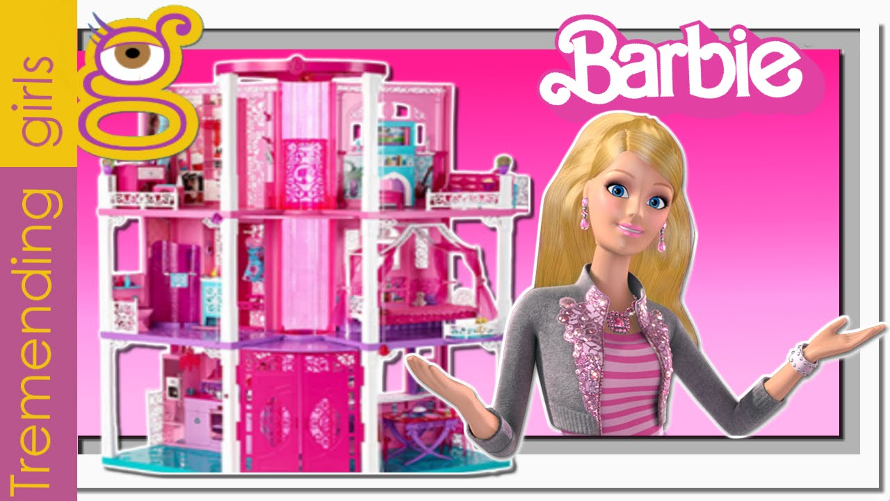 Casa barbie dreamhouse toys review juguetes barbie toys - Casa de barbie ...