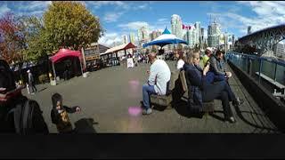 360 VR Video granville public market