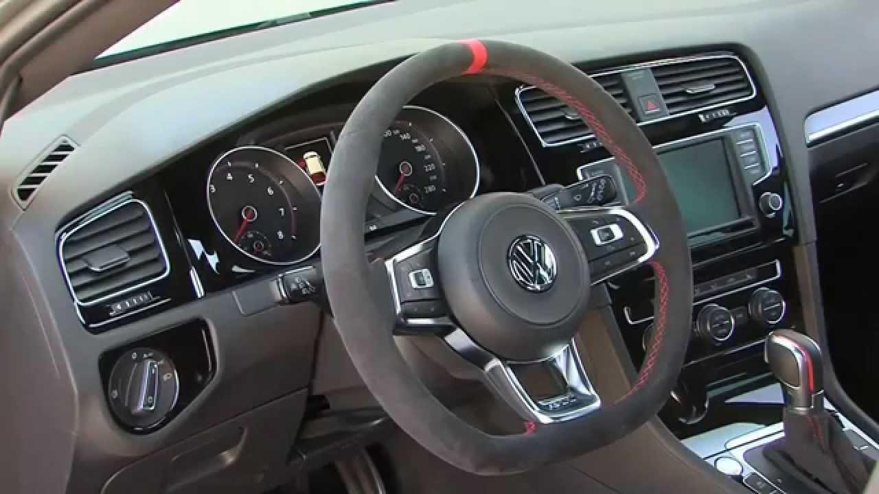 Volkswagen Golf GTI Clubsport Interior Design  AutoMotoTV  YouTube