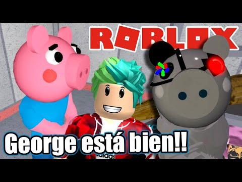 Encontre a George Escondido en Piggy | Me Convierto en Robot Piggy | Juegos Karim Juega