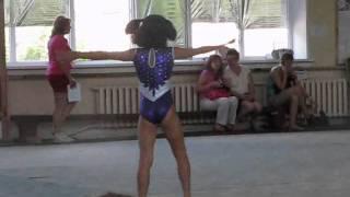 Спортивная гимнастика(ДЮСШ -16)девочки вольные