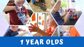 Activities For 1 Year Olds - Fun Doable Ideas For Your Toddler