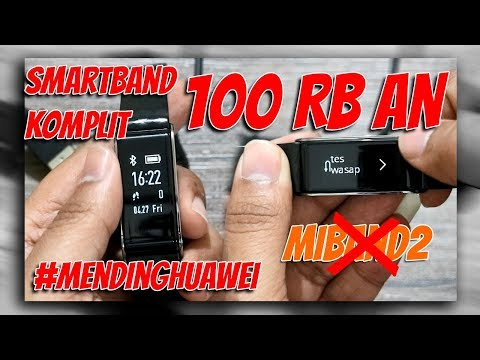 SMARTBAND KERE HORE - UNBOXING & FI REVIEW Huawei / Honor Color Band A2 [RobzVlogZ]