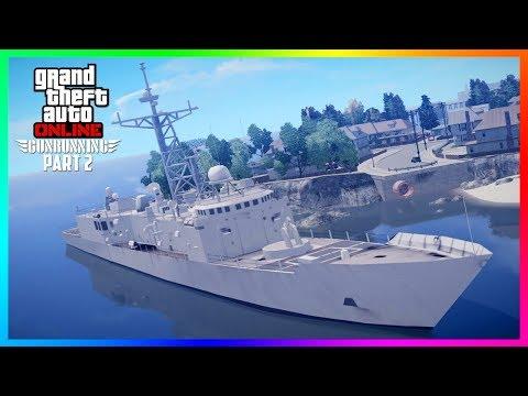 GTA Online DLC Gunrunning Part 2 Update Leaks - Info On Release Date, NEW Content & MORE! (GTA 5)