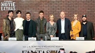 Video Fantastic Beasts and Where to Find Them | Full Press Conference with cast, director and producers download MP3, 3GP, MP4, WEBM, AVI, FLV Maret 2018