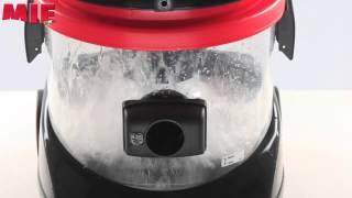 видео Пылесос с водным фильтром и сепаратором MIE Ecologico