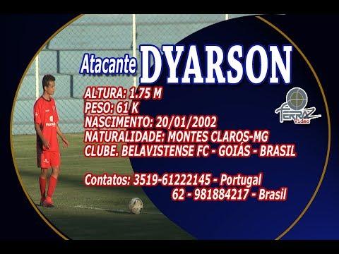 ATACANTE DYARSON 2002