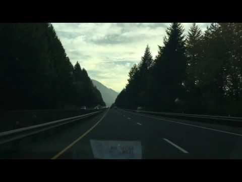 The Dalles to Portland Time Lapse
