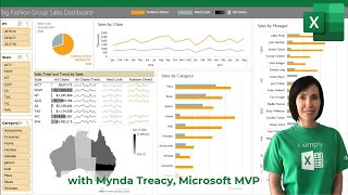 How to build Interactive Excel Dashboards