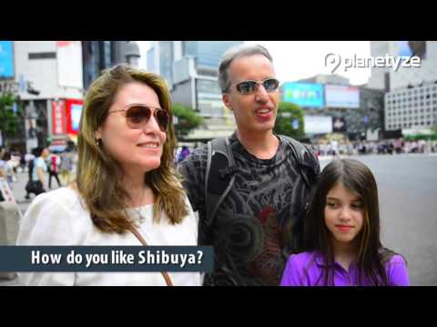 Interviewing Tourists in Shibuya |  Japan Travel Guide