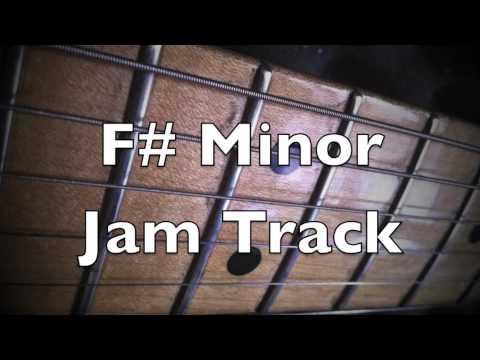 F# minor (Aeolian mode) Groove Backing Track