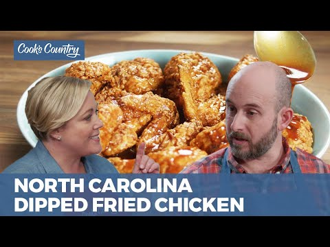 How To Make North Carolina Dipped Fried Chicken