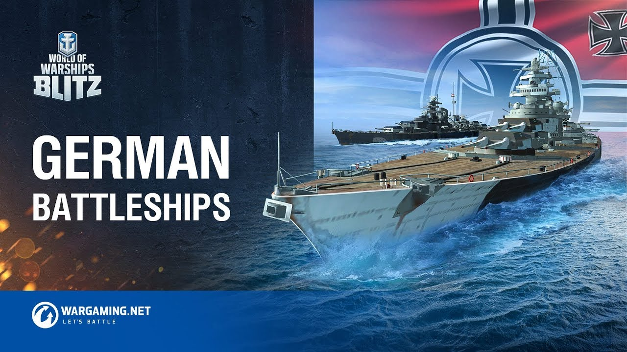 World of Warships Blitz: German Battleships