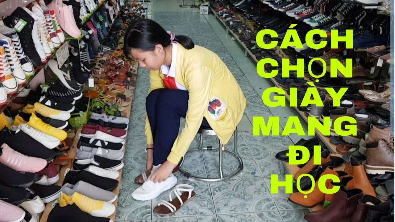 Tư Vấn Trực Tiếp Giày Mang Đi Học Cho Em Gái Nhỏ | Giày Bata Nữ HB