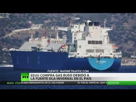 EE.UU. compra gas a Rusia pese a las sanciones vigentes ante la fuerte ola de frío