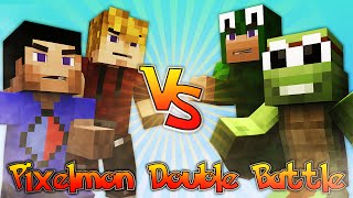 minecraft superhero battle