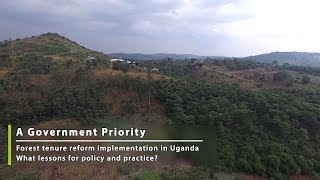 Forest tenure reform in Uganda: A government priority (Part 3/5)