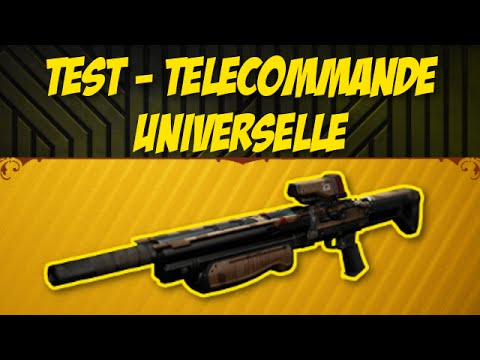 destiny test de la t l commande universelle youtube. Black Bedroom Furniture Sets. Home Design Ideas