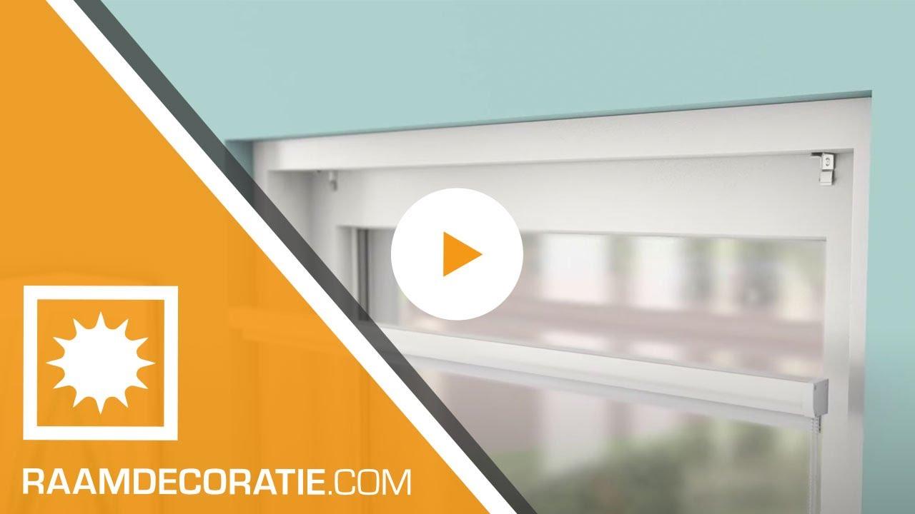 Montage video: cassette rolgordijn standaard montage en kindveilig ...