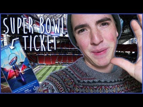 the SUPER BOWL ticket