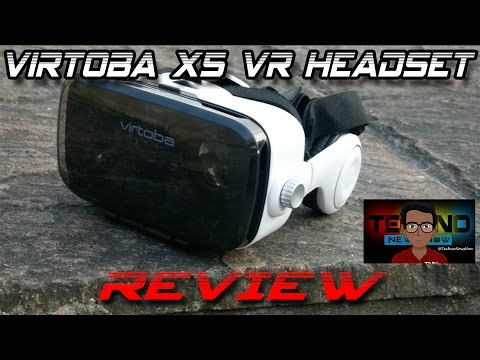 Virtoba X5 VR Headset Review For Android, Windows and iPhone | £25 $35 €30