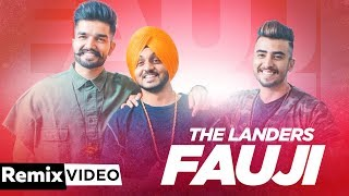Fauji (Remix) | The Landers | Western Penduz | Latest Punjabi Songs 2019 | Speed Records