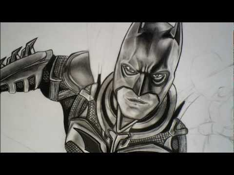 Desenho Batman A Lapis Drawing Batman In Pencil Youtube