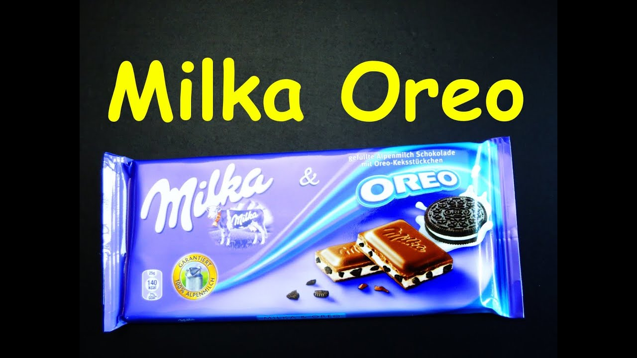 Milka Chocolate Oreo Candy Bar from Germany - SaCE - YouTube