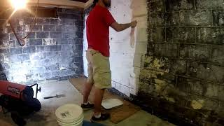 Project Phoenix Home Rebuild Ep 04 - Painting / Sealing the Basement