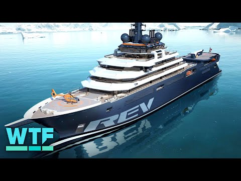 The world's largest superyacht is out to save our oceans